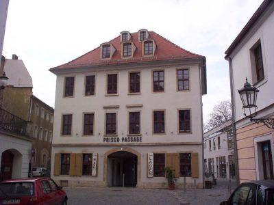 Sanierung Prisco- Passage, Wallgäßchen, Dresden