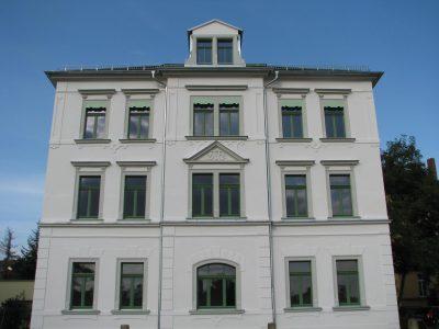 Denkmalgeschütztes Mehrfamilienhaus in Radebeul