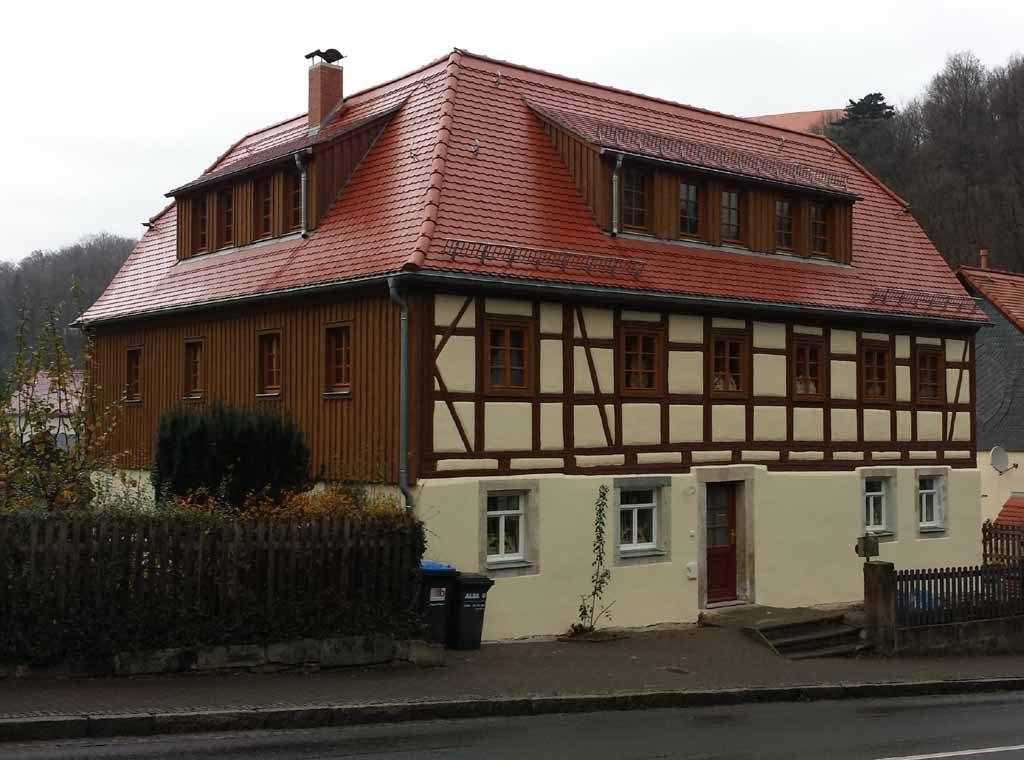 Sanierung denkmalgeschütztes Fachwerkhaus | Tharandt