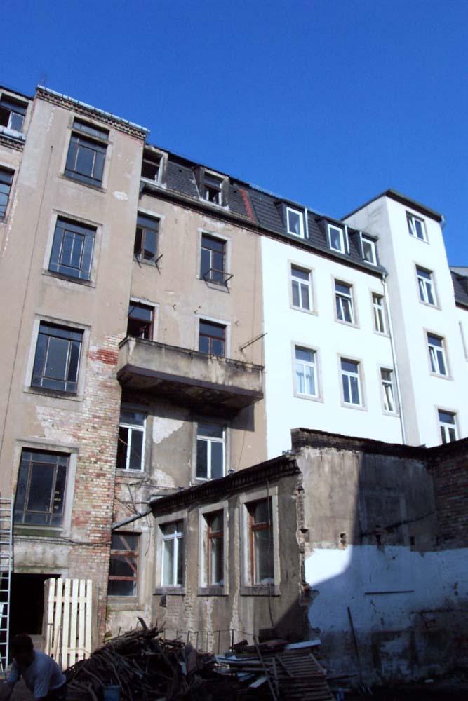 Energetische Sanierung eines denkmalgeschützten Mehrfamilienwohnhauses | Dresden-Neustadt
