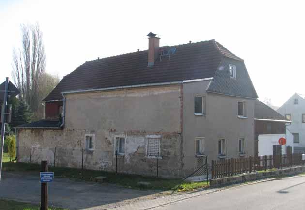 Ein Fachwerkhaus im Schönfelder Hochland