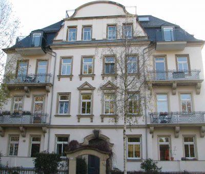 Fassadensanierung Striesener Kaffeemühle   Dresden