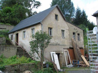 Aufmass und Instandsetzungskonzept für ein historisches Haus am Hang | Liebstadt