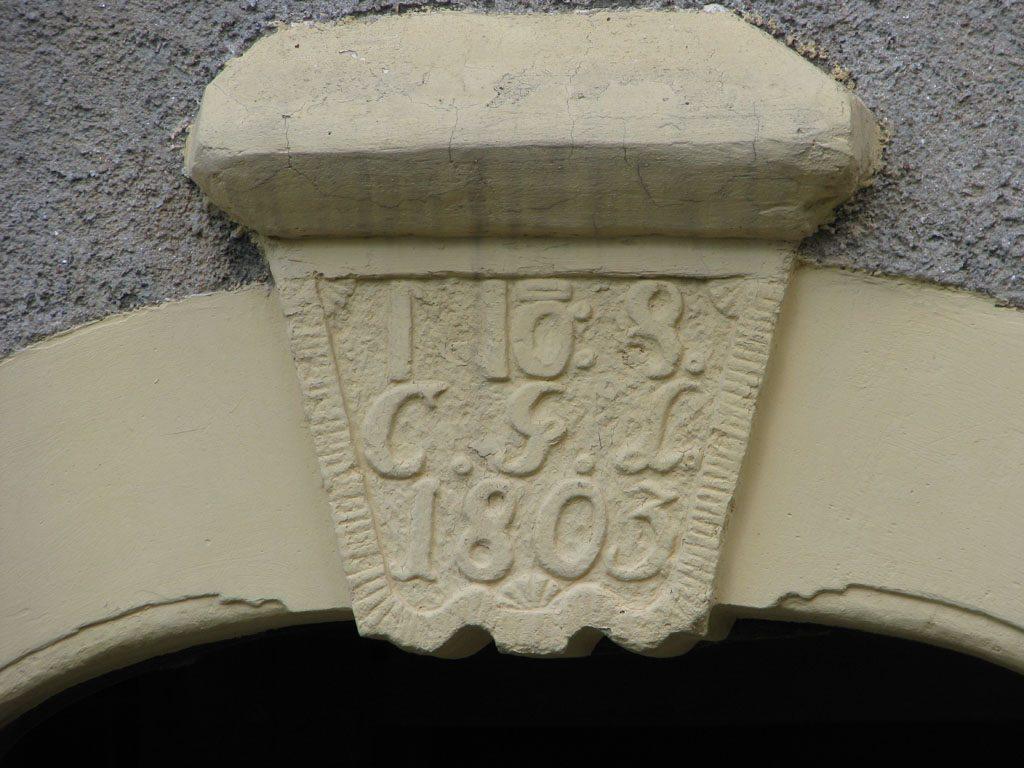 Aufmass und Instandsetzungskonzept für ein historisches Haus am Hang   Liebstadt