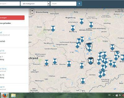 Denkmalradar (Screenshot)